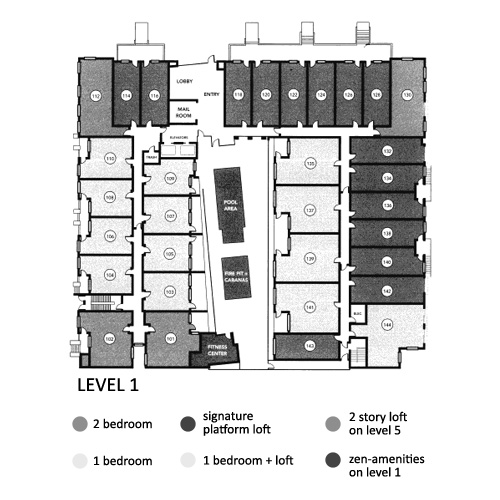 Aloft Floor Plan Level 1