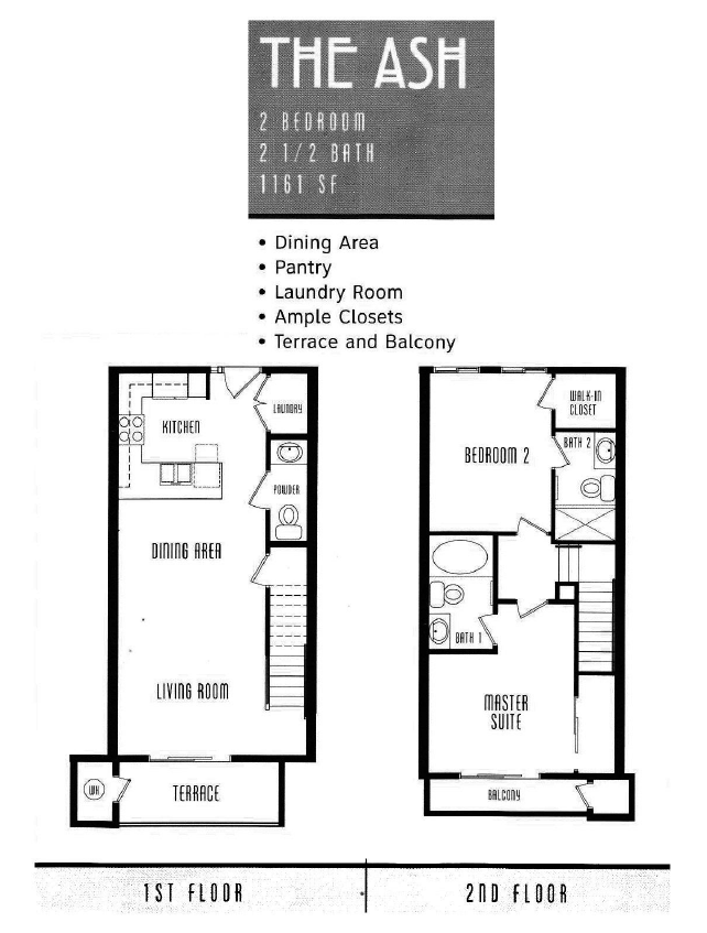 The Lodge Floor Plan The Ash