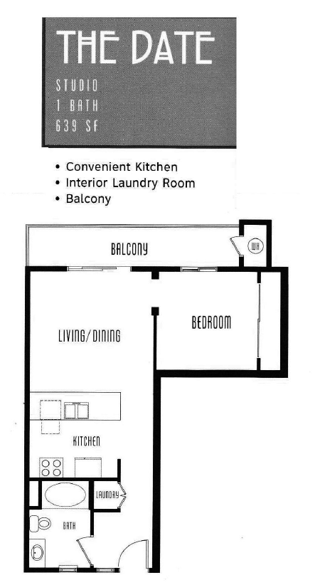 The Lodge Floor Plan The Date