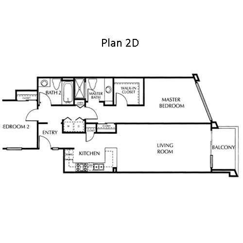 The Mills Floor Plan 2D