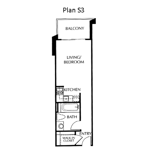 The Mills Floor Plan S3