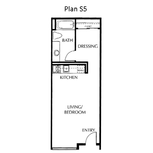 The Mills Floor Plan S5